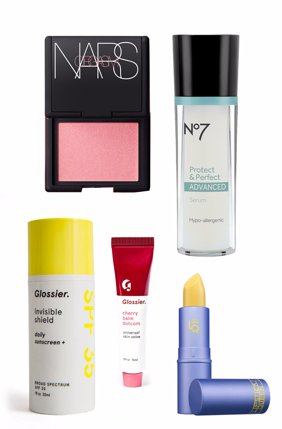 my 5 favorite beauty products right now
