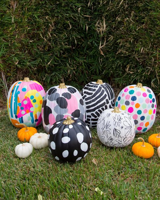 oh joy-inspired pumpkins