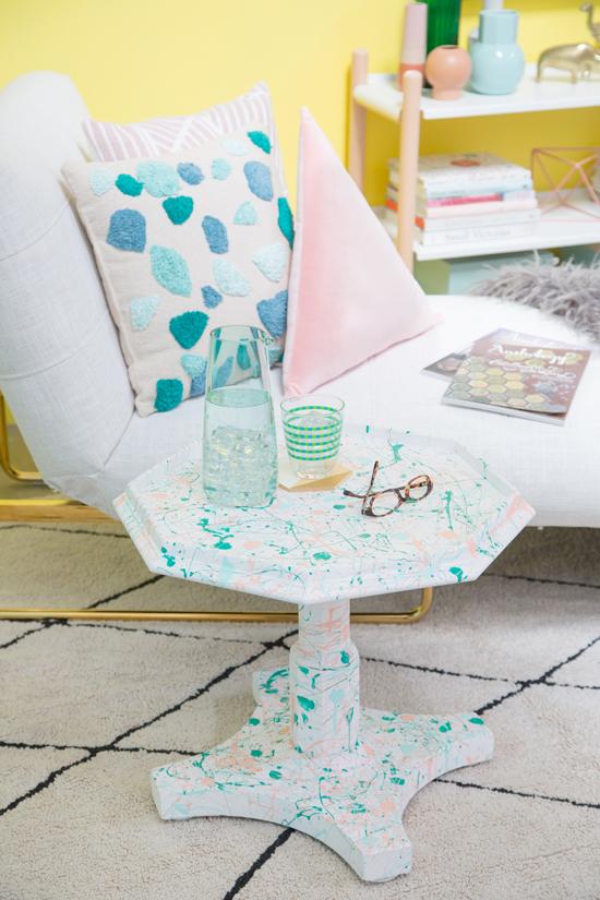 Vintage End Table Makeover / Oh Joy!