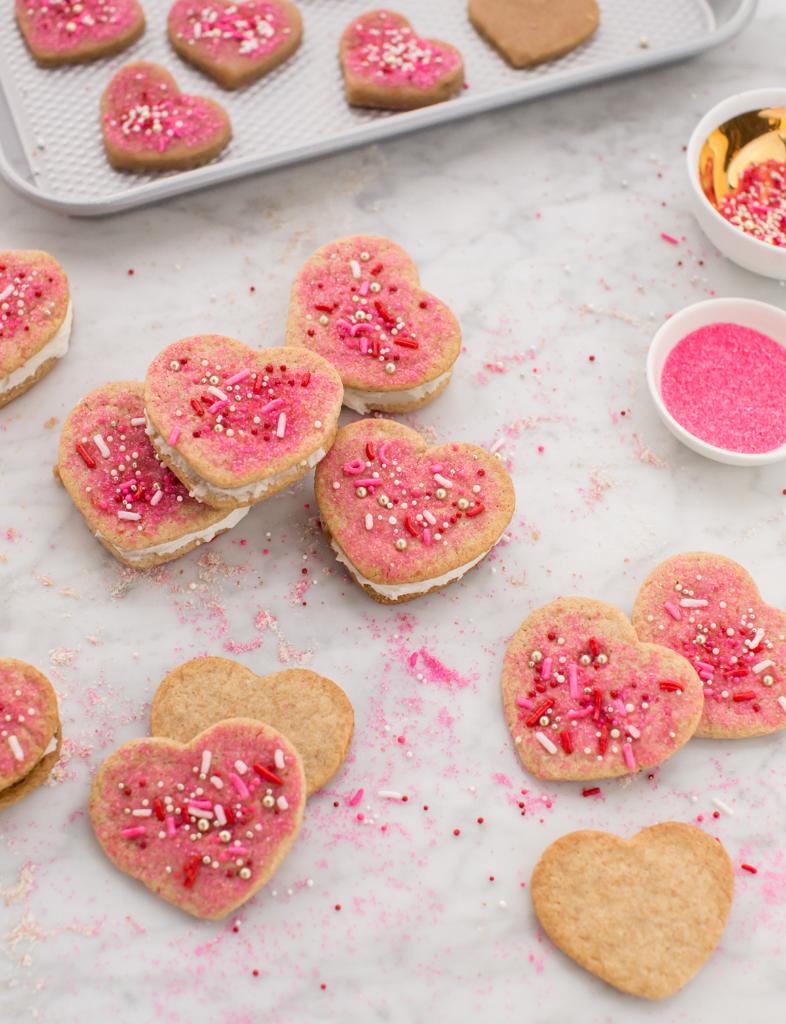 DIY Heart Cookie Sandwiches... / Oh Joy!