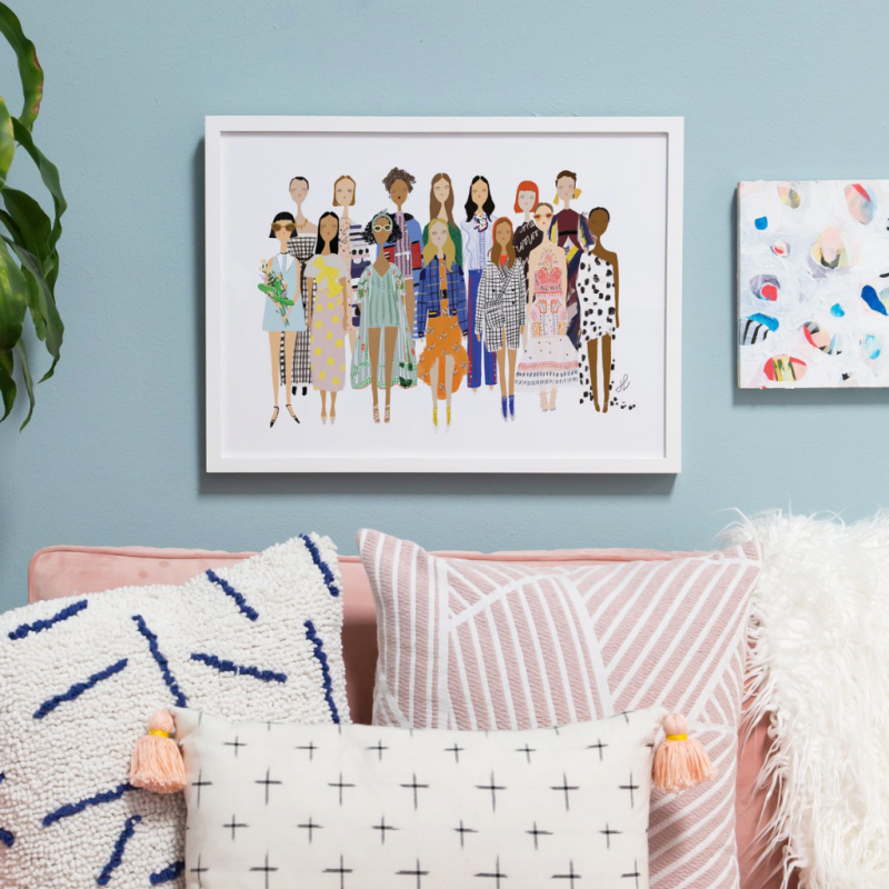 Fashion Ladies by Jill Lin, exclusive on the Oh Joy Shop!