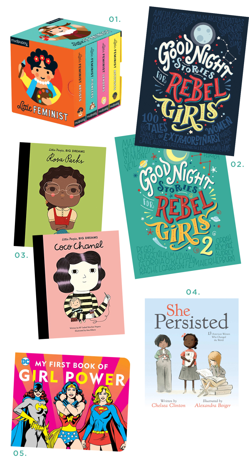 5 'Girl Power' Books for Kids... / via Oh Joy!
