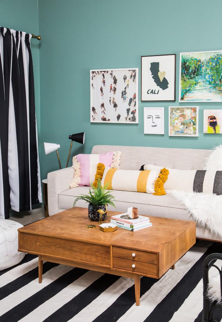 A Stripe Living Room! / Oh Joy Pattern Adventures!