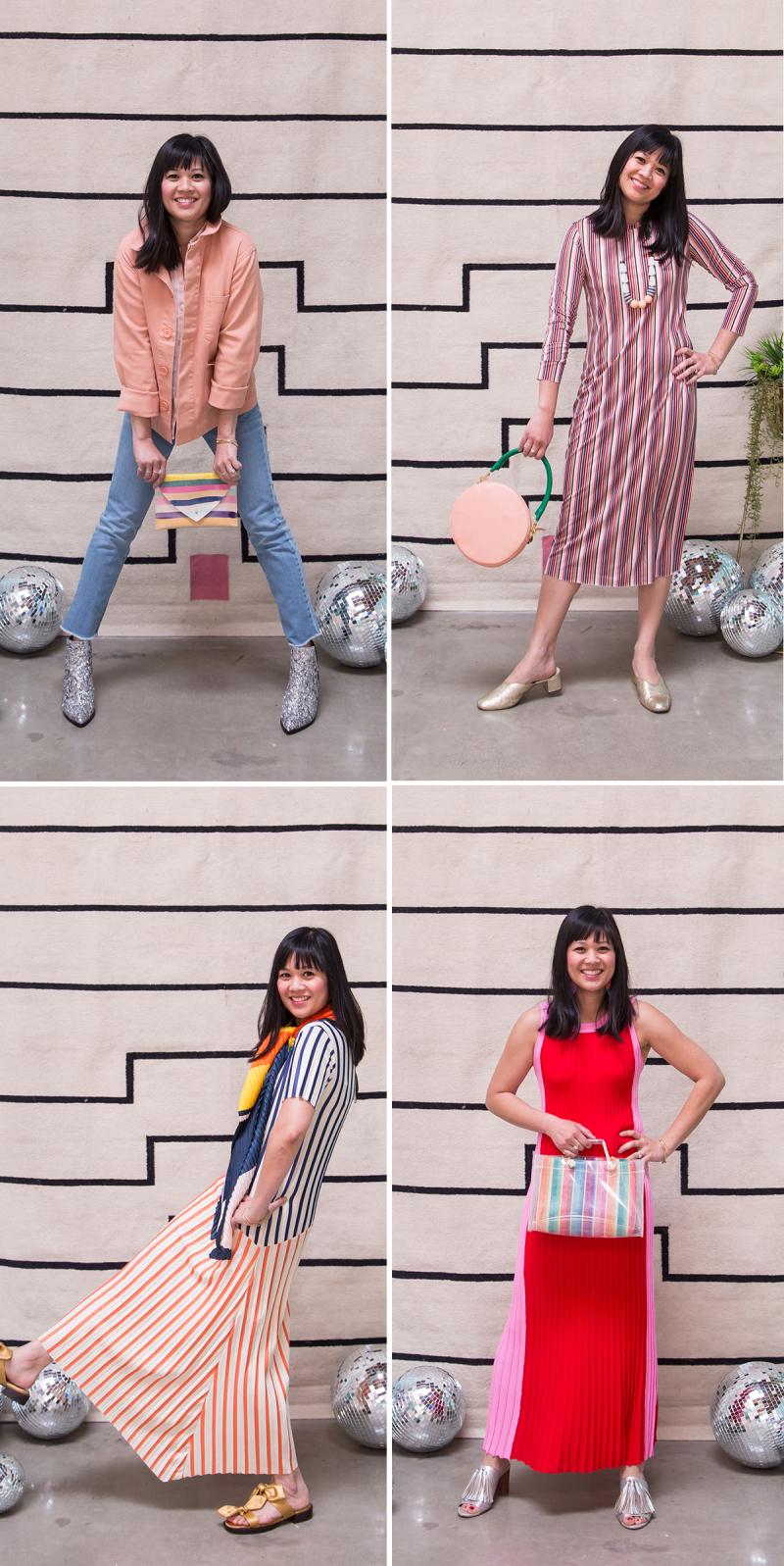 How to Wear Stripes / Oh Joy!
