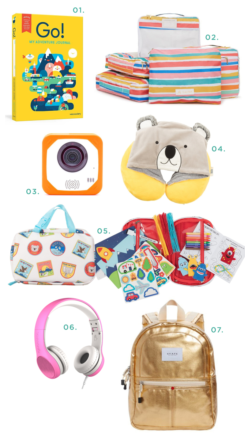 7 Travel Must-Haves with Kids... / via Oh Joy!