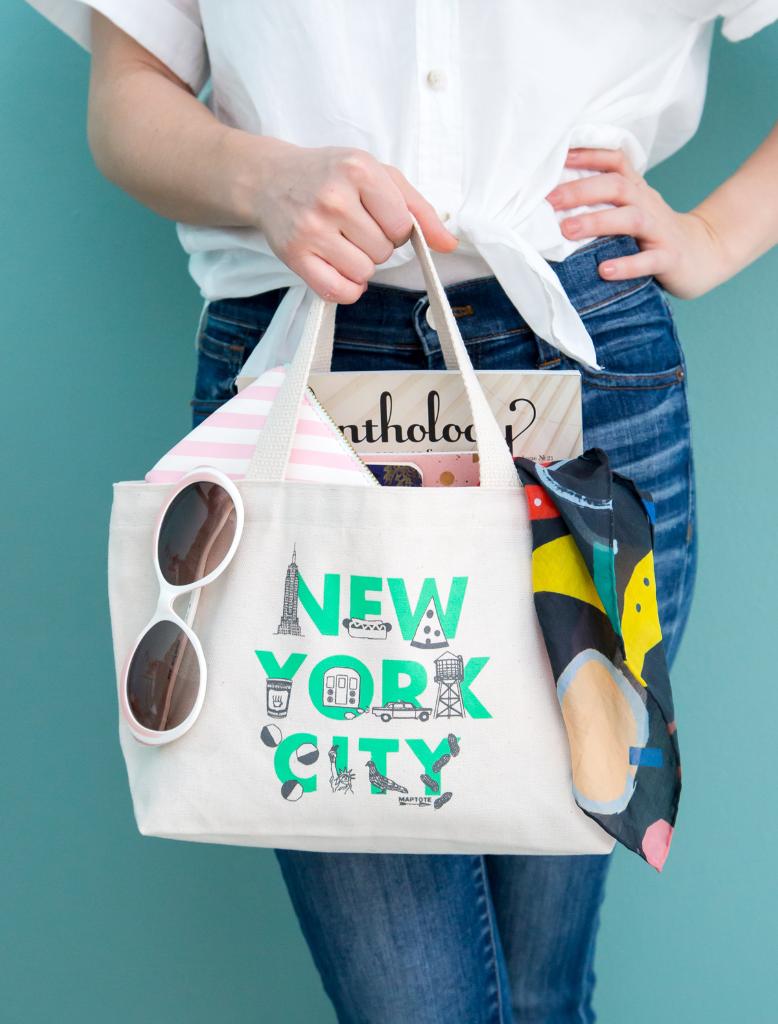 New York Mini Tote Bag / Oh Joy!