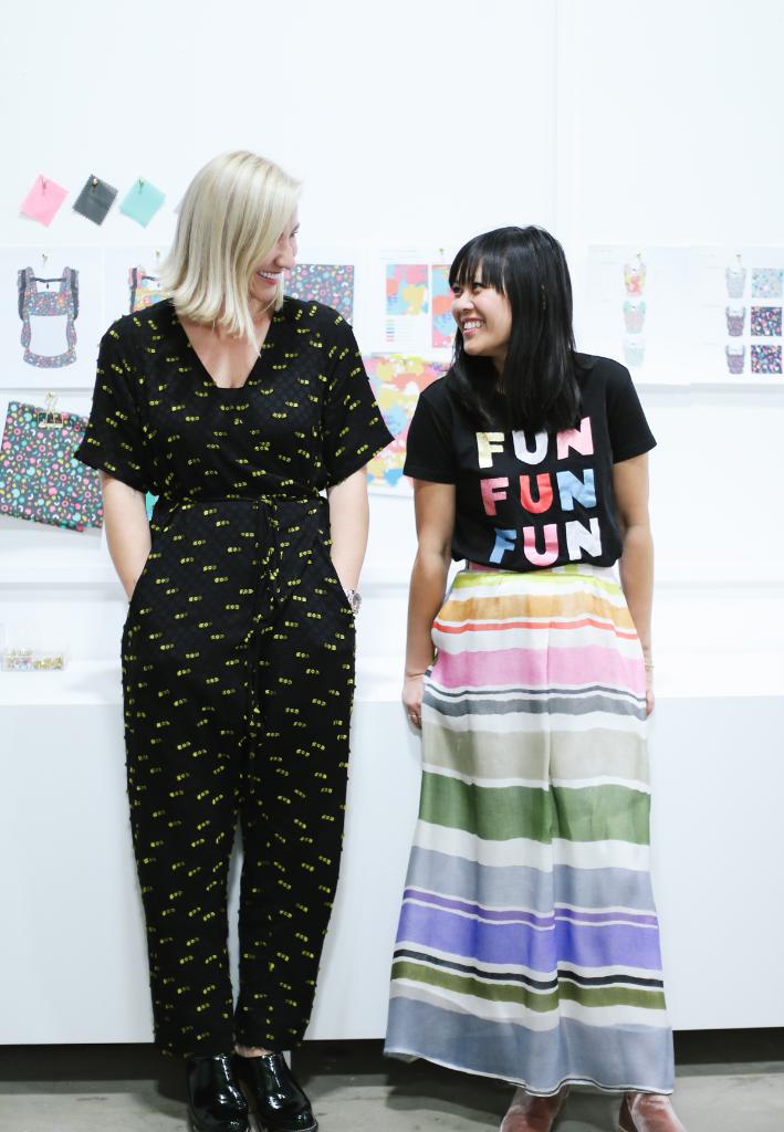Oh Joy for Tula: Behind The Scenes with Joy Cho and Ula Tuszewicka