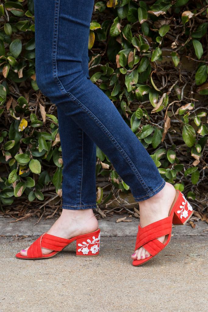 Lace Heels DIY / Oh Joy!