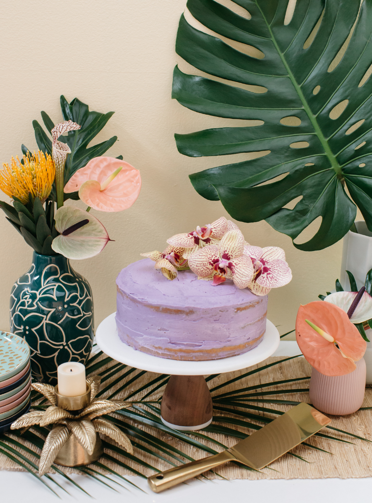The prettiest coconut cake inspired by Hawaii! / Oh Joy!