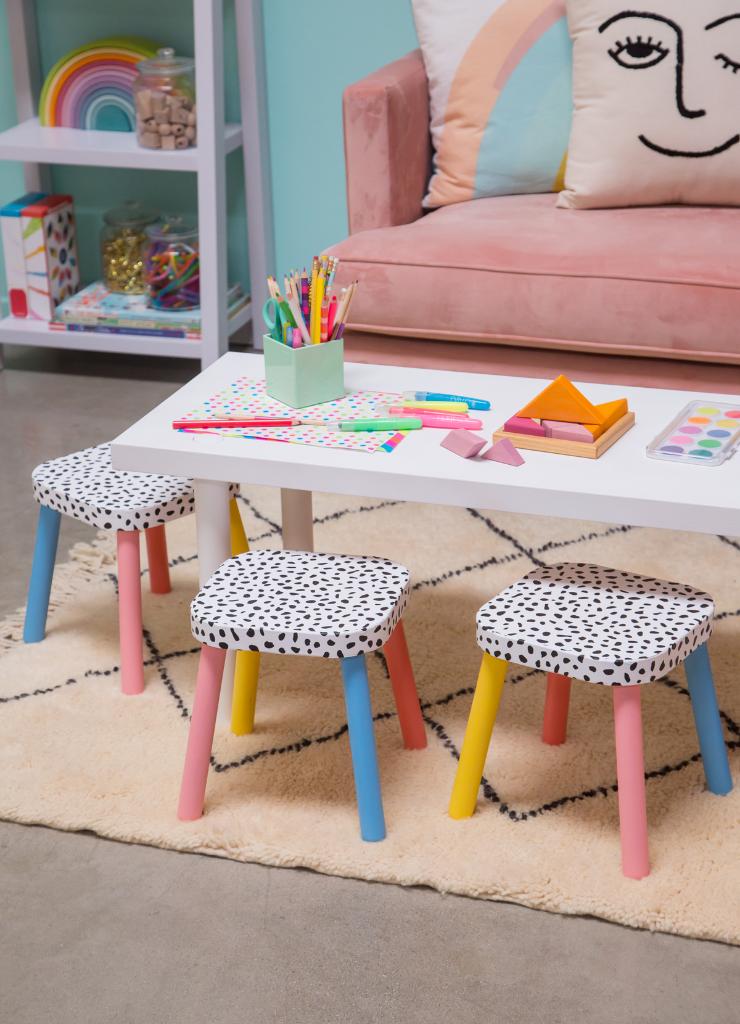 Mini DIY Chairs for Kids / Oh Joy!