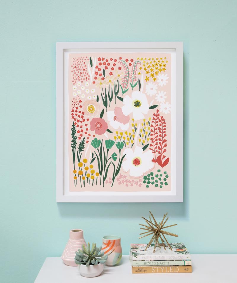Groovy Garden print by Lisa Rupp / Oh Joy Shop!