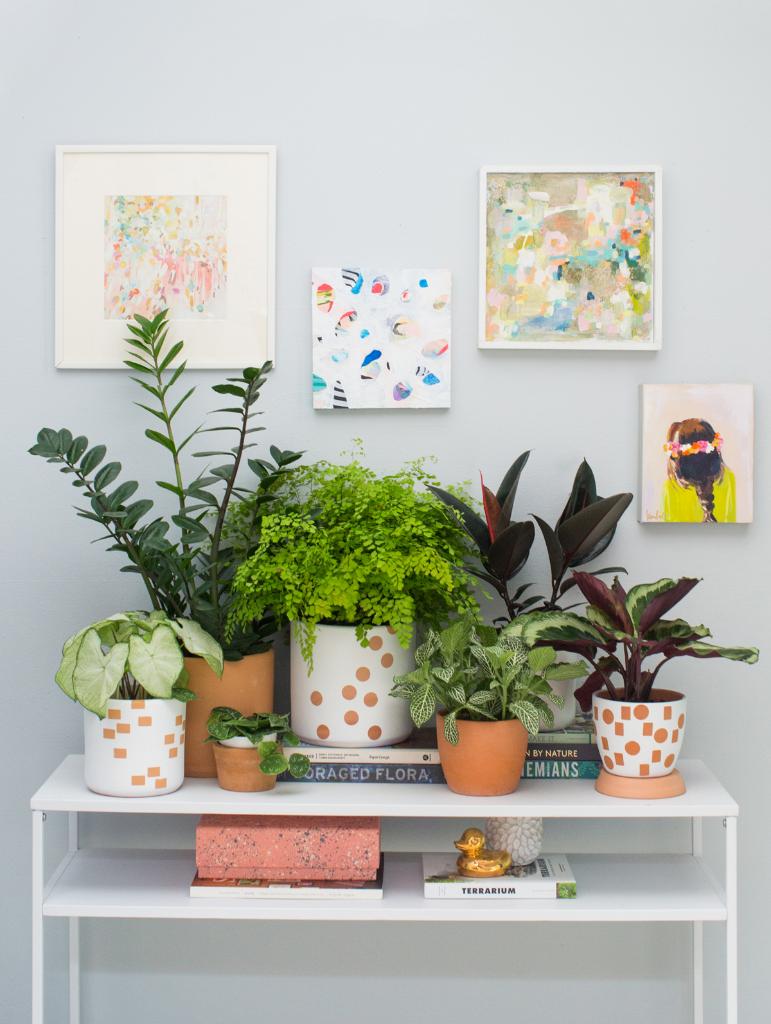 An Easy Way to Transform Terracotta Pots / Oh Joy!