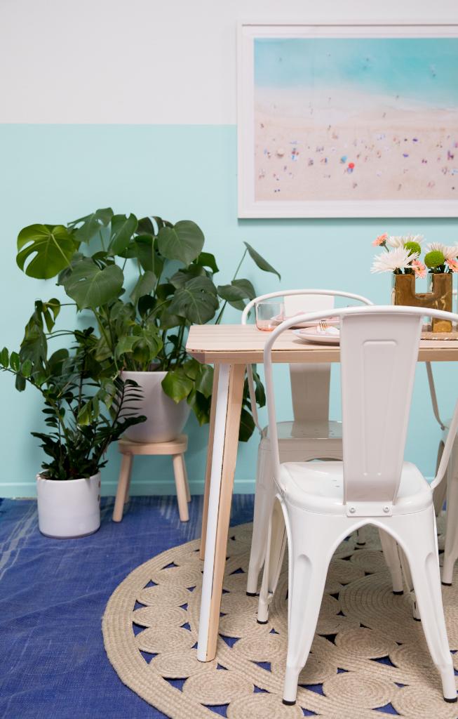 Ikea Table DIY / via Oh Joy!
