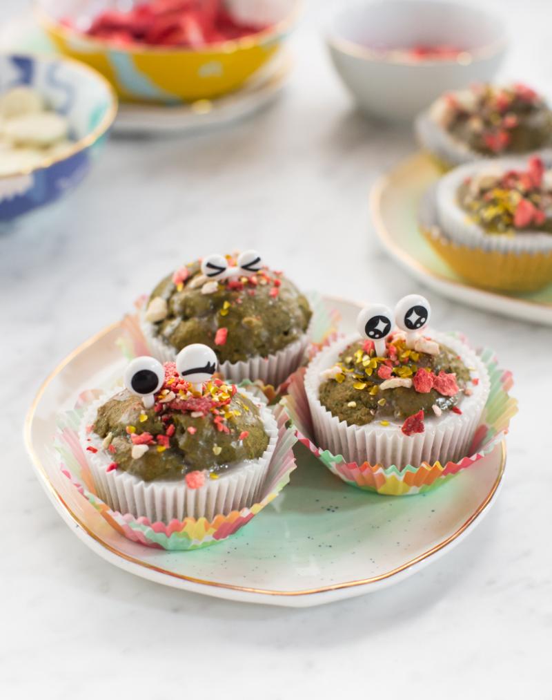 Monster Muffins / Recipe via Oh Joy!