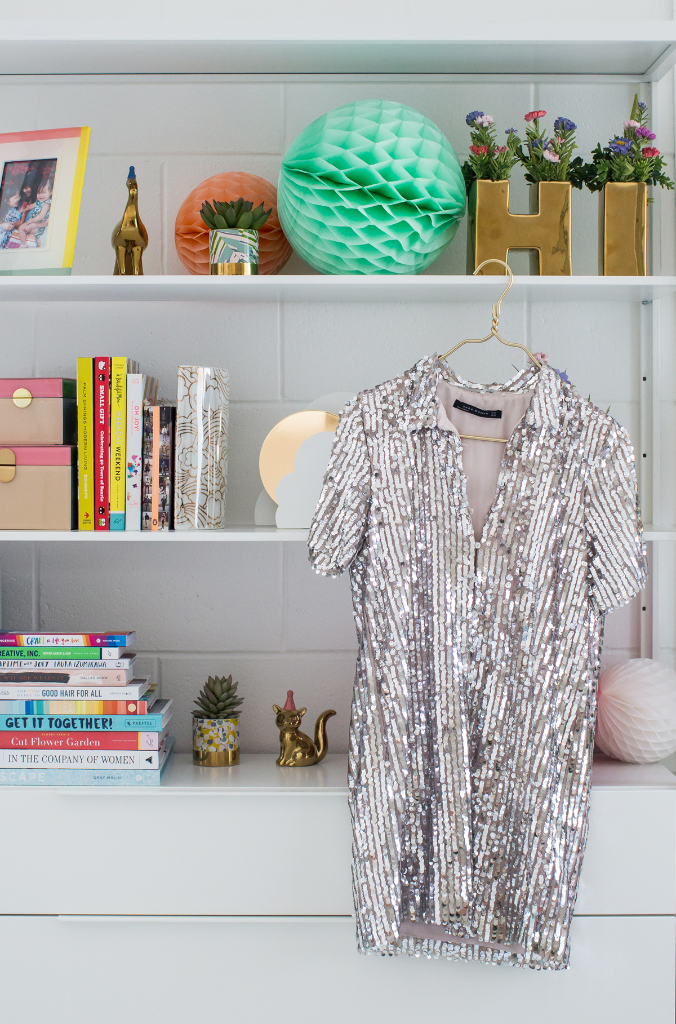 How to Style a Sequin Dress Three Ways / via Oh Joy!