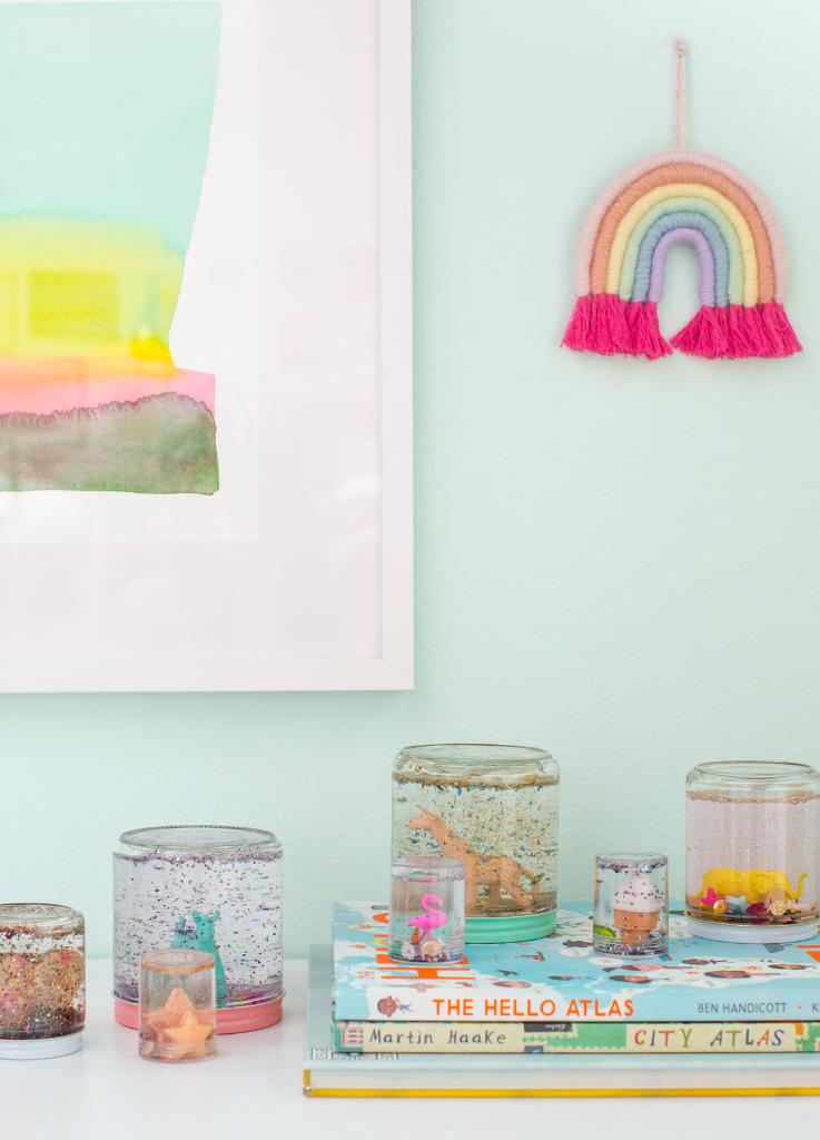 A DIY Glitter Jar for Kids / via Oh Joy!