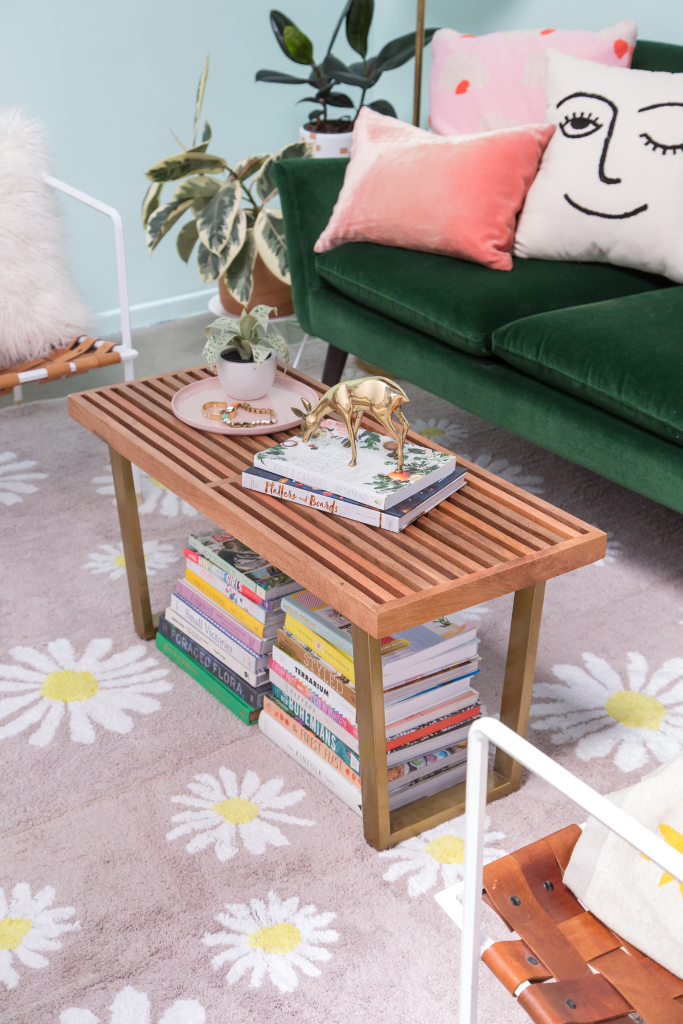 How to style with two rugs... / via Oh Joy!