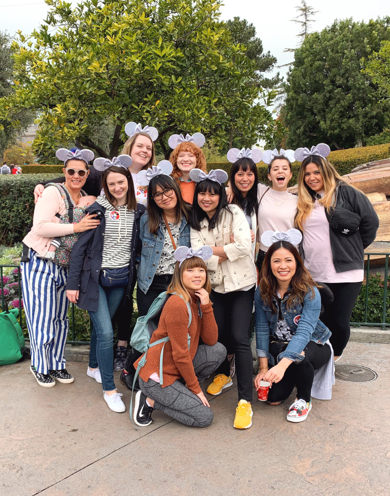 Oh Joy! Team at Disneyland