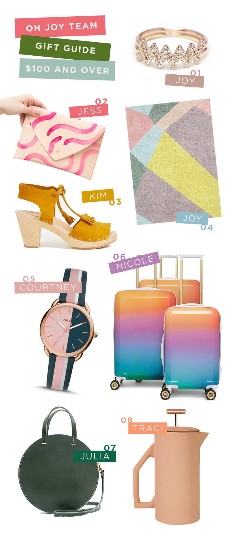 Oh Joy! Team Gift Guide: $100 and Over: Joy, Julia, Jess, Courtney, Traci, Nicole, and Kim / via Oh Joy!
