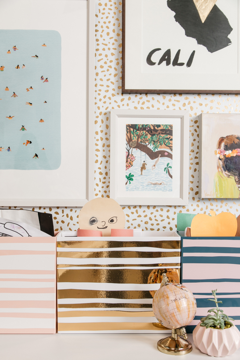 how to organize your kid's art / Oh Joy!
