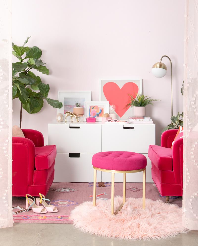 Color Adventures: A Pretty in Pink Room / ...via Oh Joy!