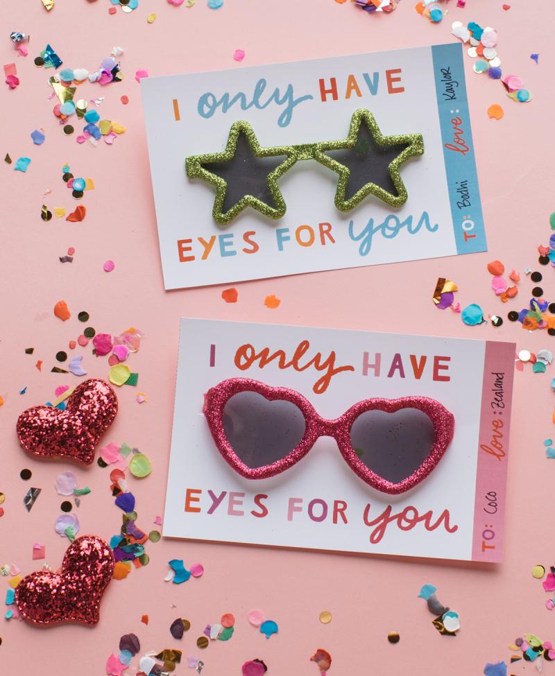 The Cutest Valentine's Day Printable... / via Oh Joy!