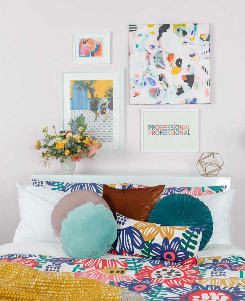 Color Adventures: A Warm Tonal Bedroom... / via Oh Joy!
