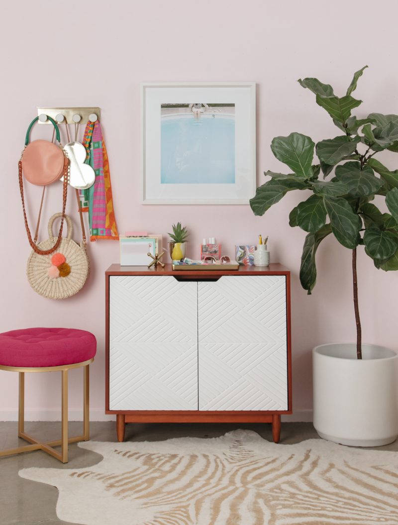 A Functional and Chic Entryway / via Oh Joy!