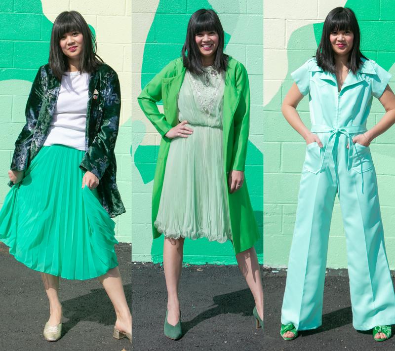 Color Adventures: Oh Joy! Wears Green