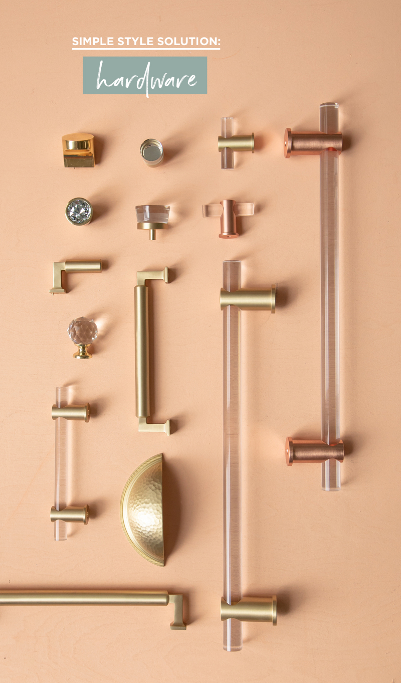 When A Knob Isn't Just A Knob... // Simple Style Solution: Hardware / via Oh Joy!