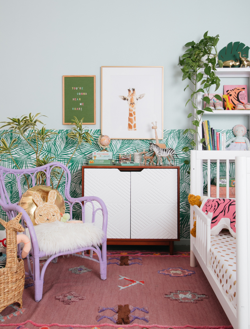 A Safari Inspired Kid's Room... / via Oh Joy!