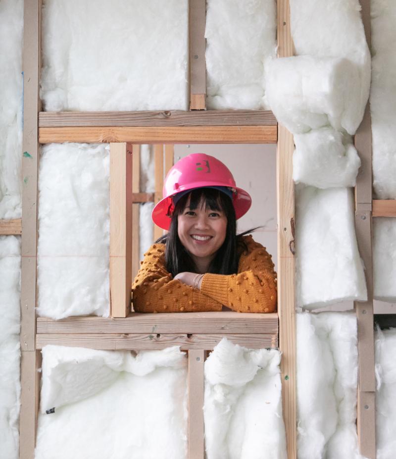 Oh Joy! Builds a House: The Laundry Room! / via Oh Joy!