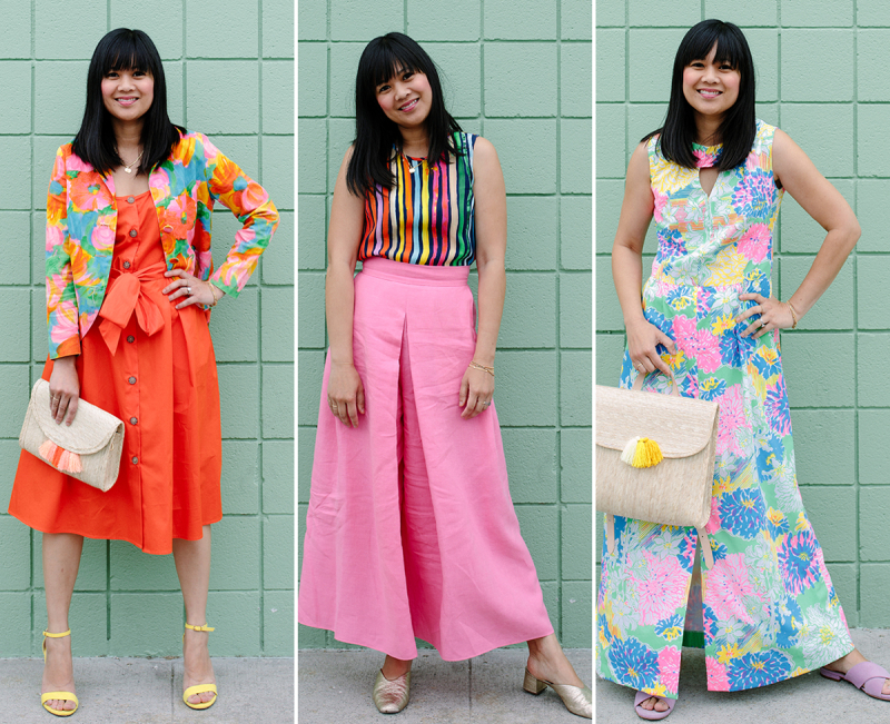 Color Adventures: Oh Joy! Wears Brights / via Oh Joy!