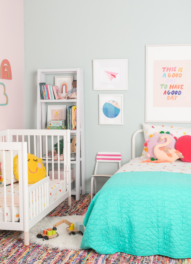 Color Adventures: A Bright Tonal Kid's Room / via Oh Joy!