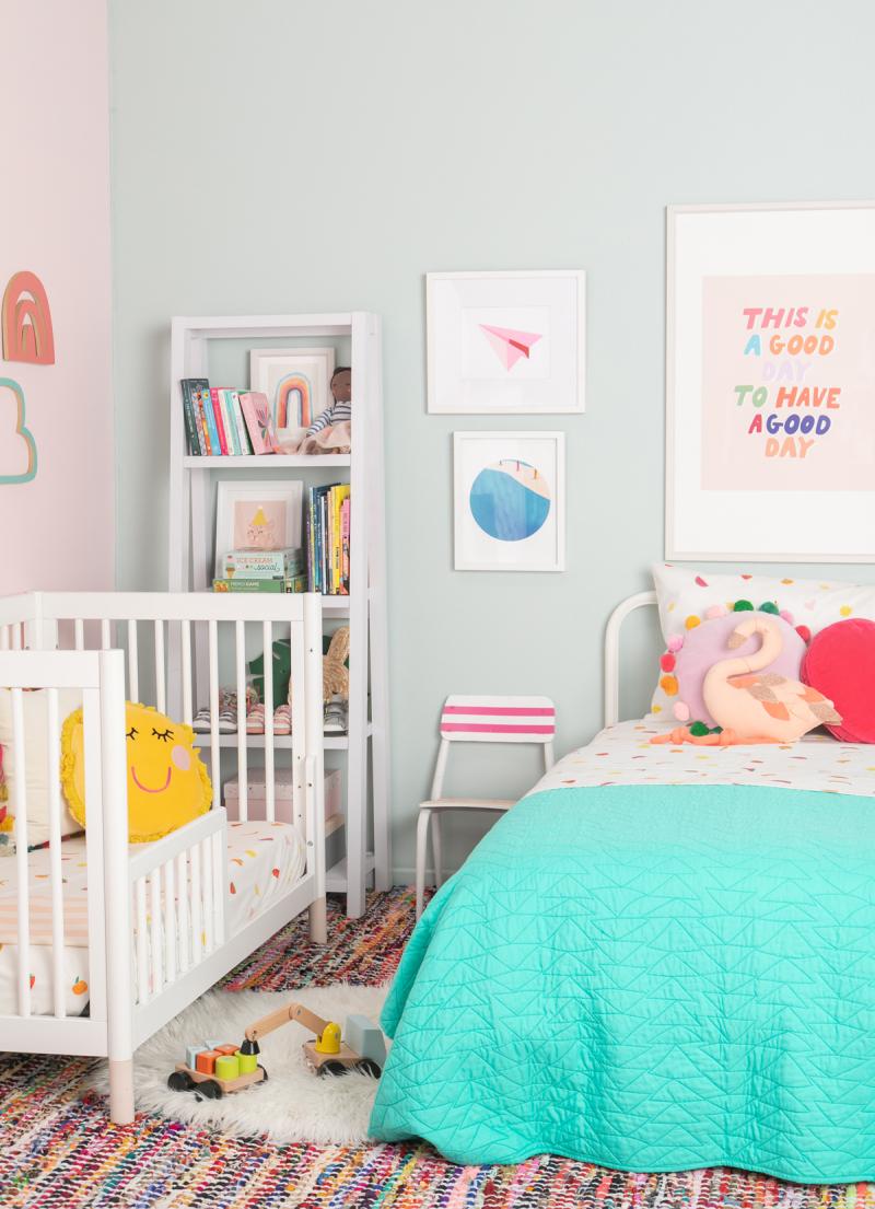Color Adventures: A Bright Tonal Kid's Room / via Oh Joy!