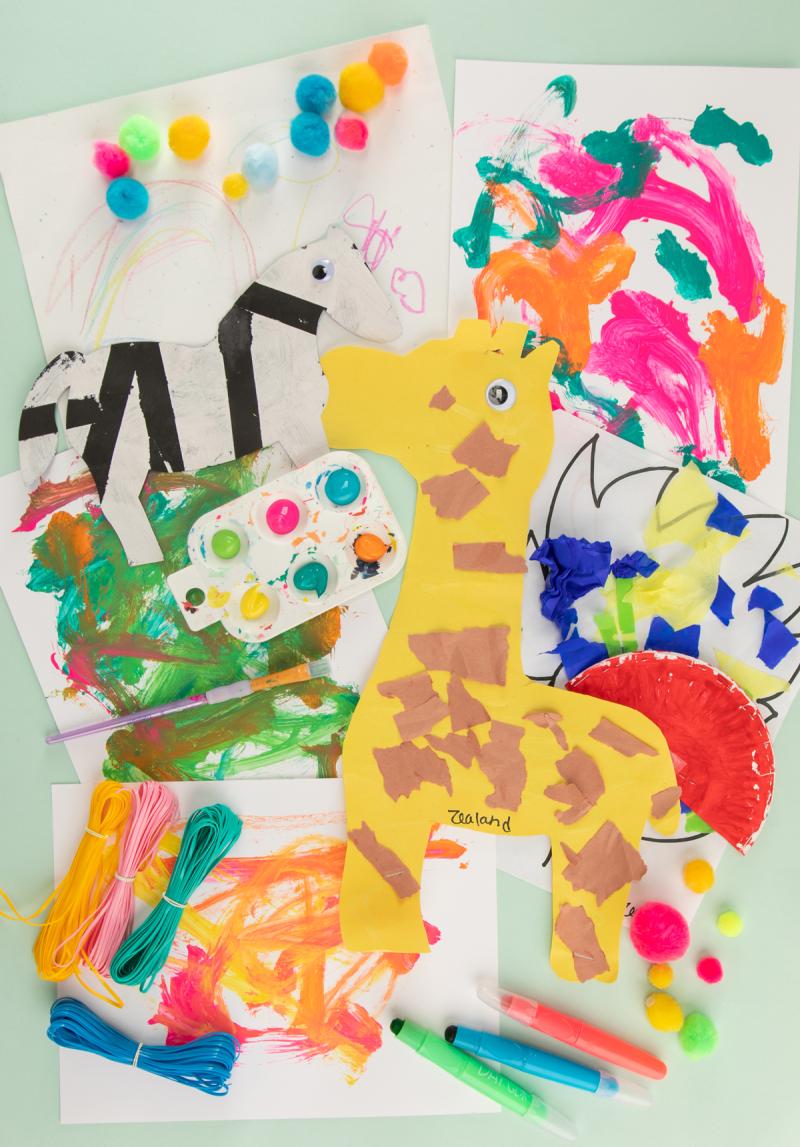 Nine Fun Art Studios for Kids in Los Angeles... / via Oh Joy!