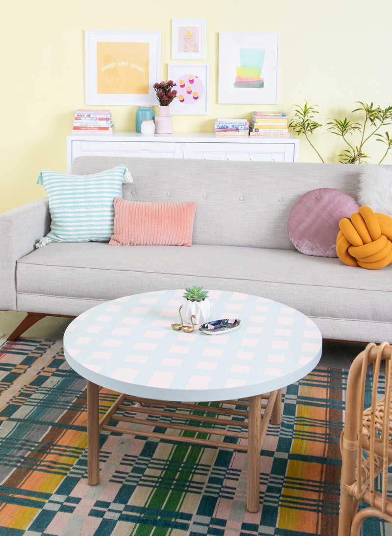 A Coffee Table Makeover / Oh Joy!