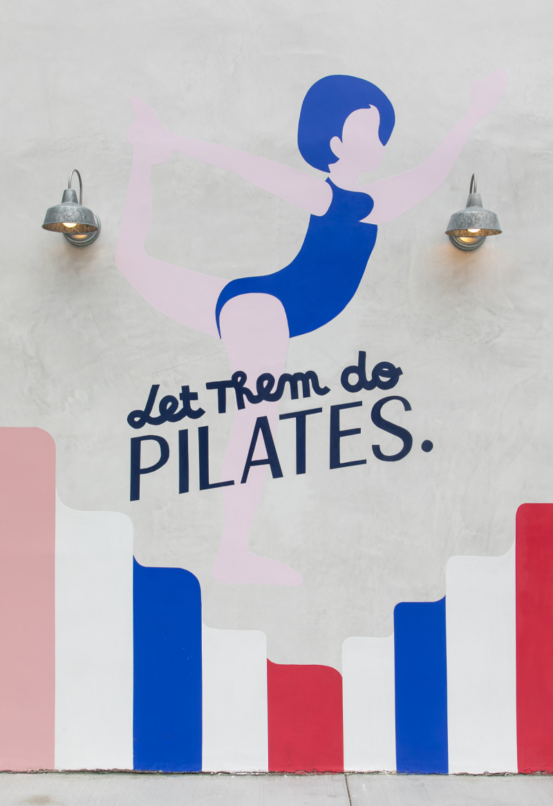 Day Trip: Paris Pilates / via Oh Joy!