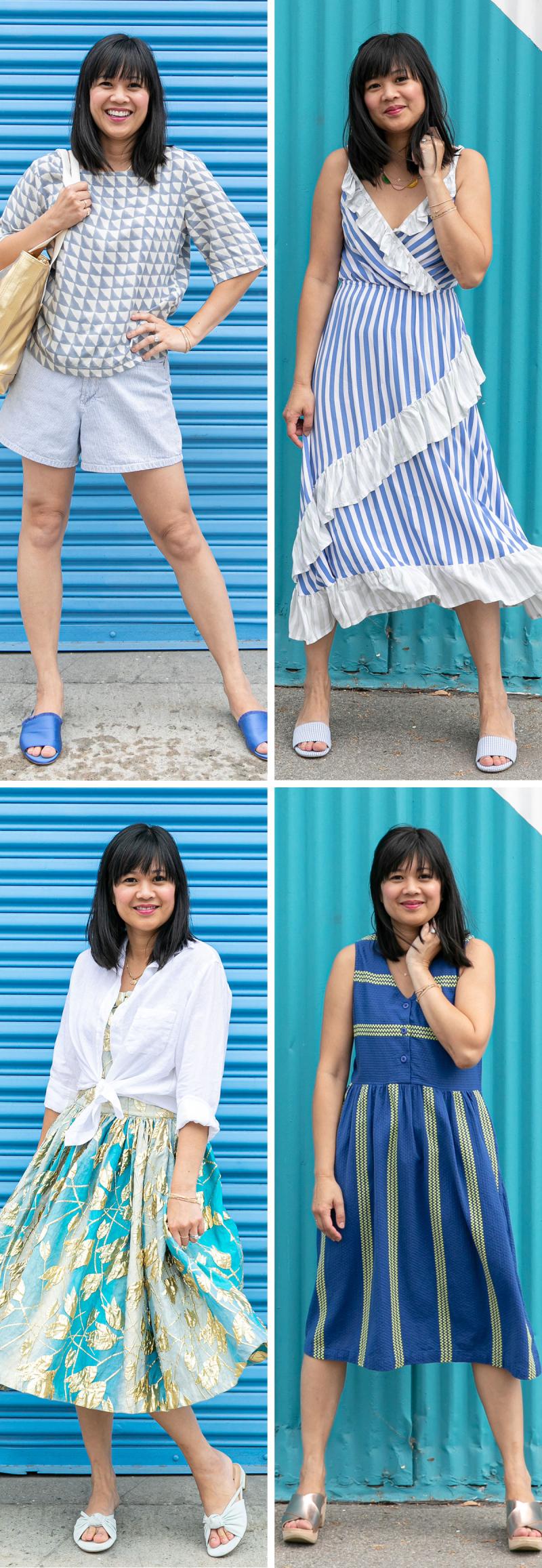 Color Adventures: Oh Joy! Wears Blue / via Oh Joy!
