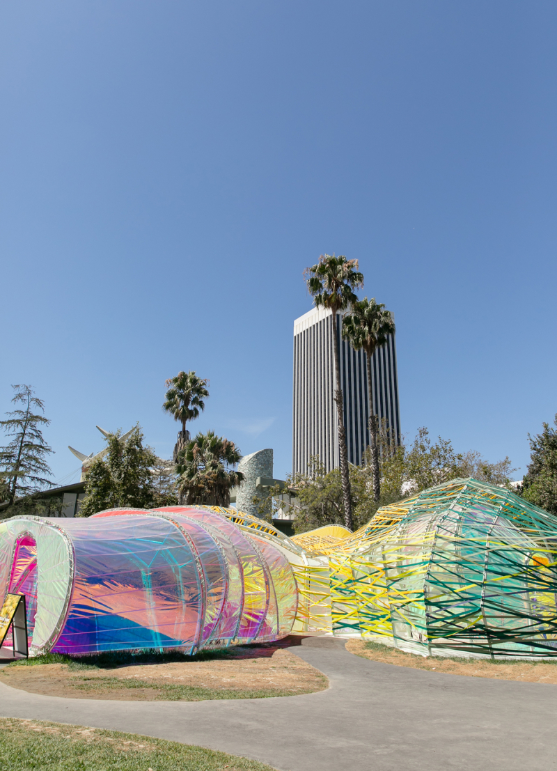 field trip: second home pavilion (+ lunch at LACMA!) / via Oh Joy!