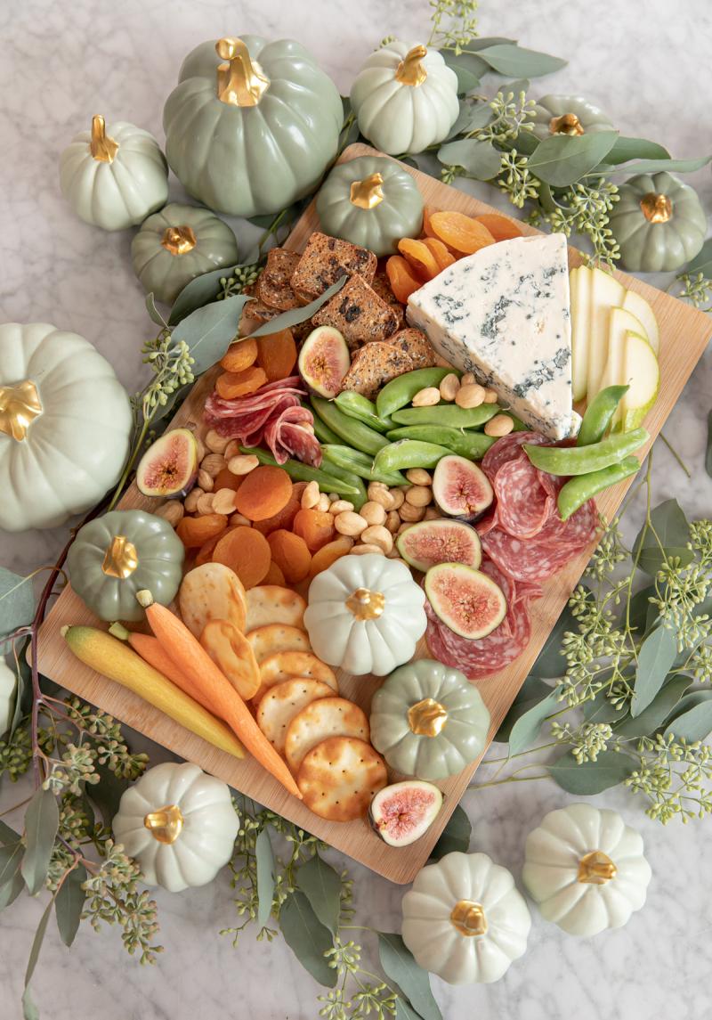 an autumnal charcuterie... / via oh joy!