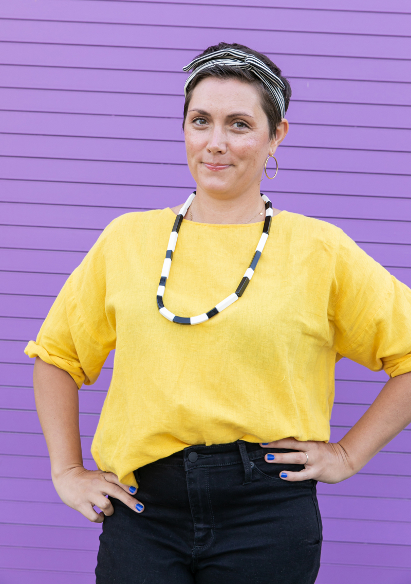 style guide: dressing for nursing with Angie! / via oh joy!