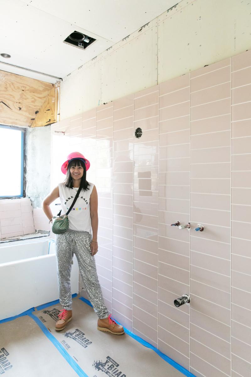 oh joy builds a house update: tiles, tiles, tiles! / via oh joy!