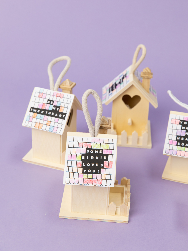 a bird house for your valentine... / via oh joy!