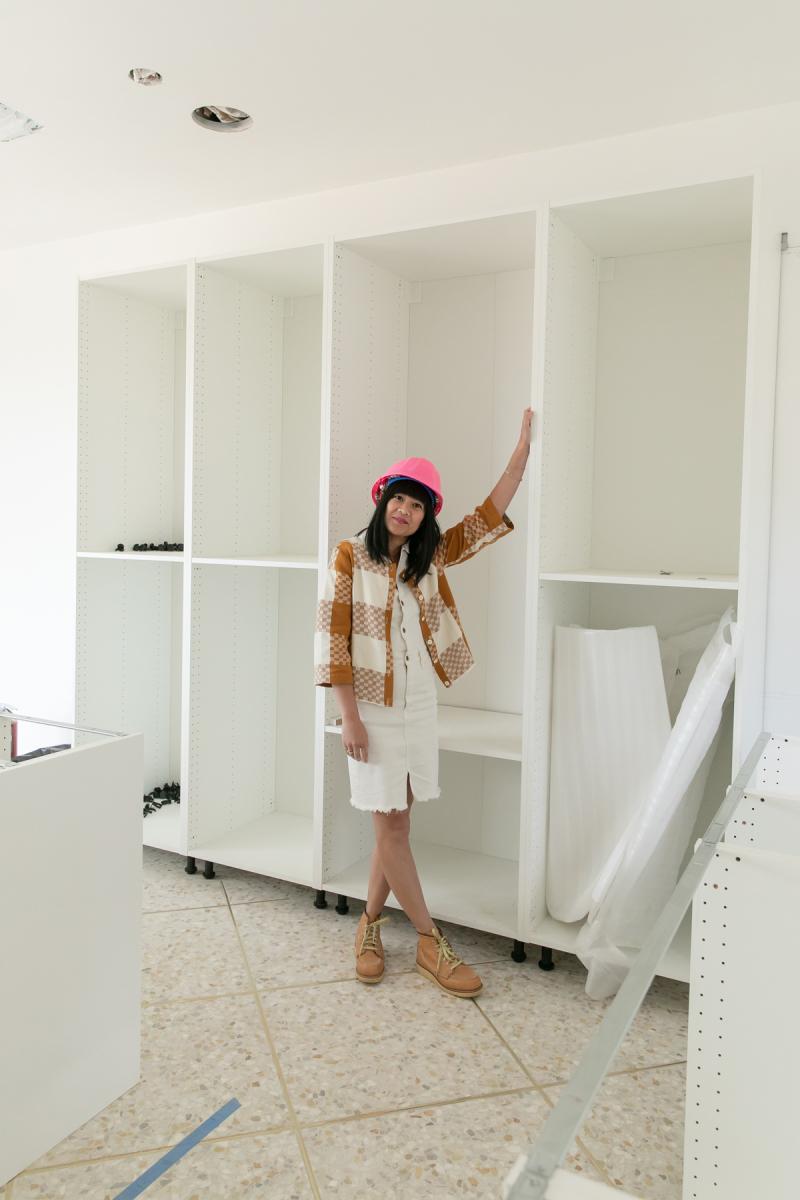 why I love semi-custom cabinets / Oh Joy!