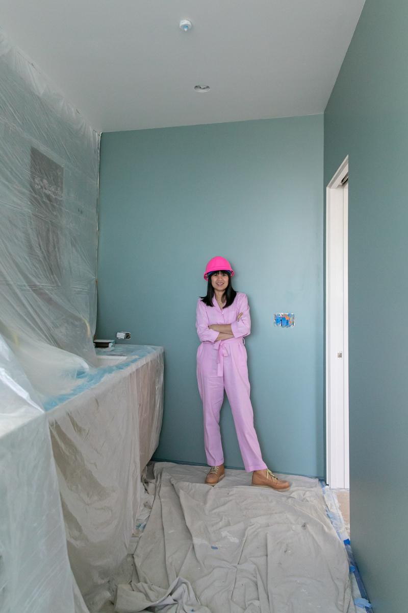 oh joy builds a house: paint!