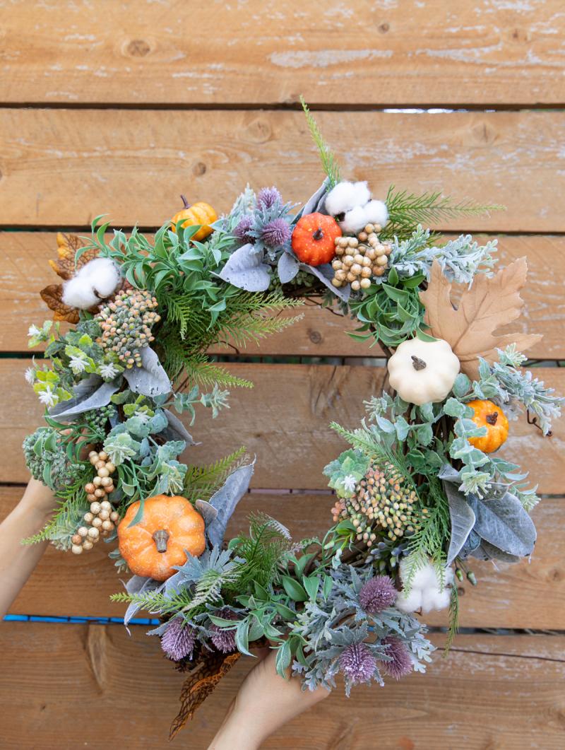 Oh Joy Fall Wreath