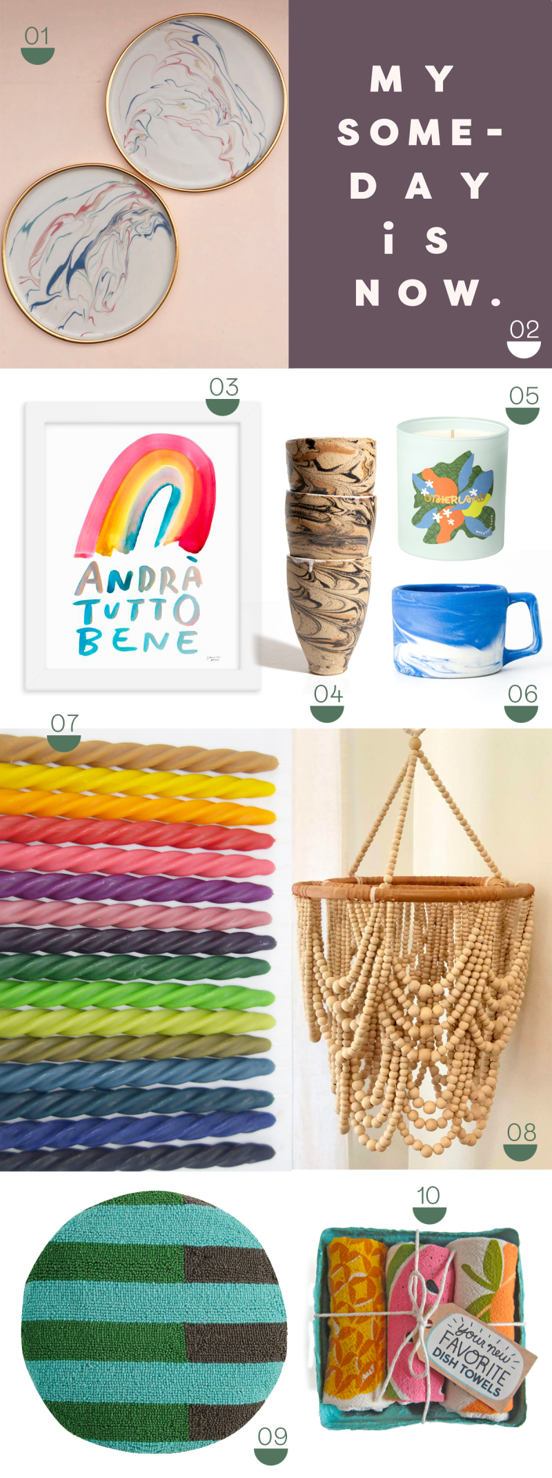 oh joy gift guide: home decor