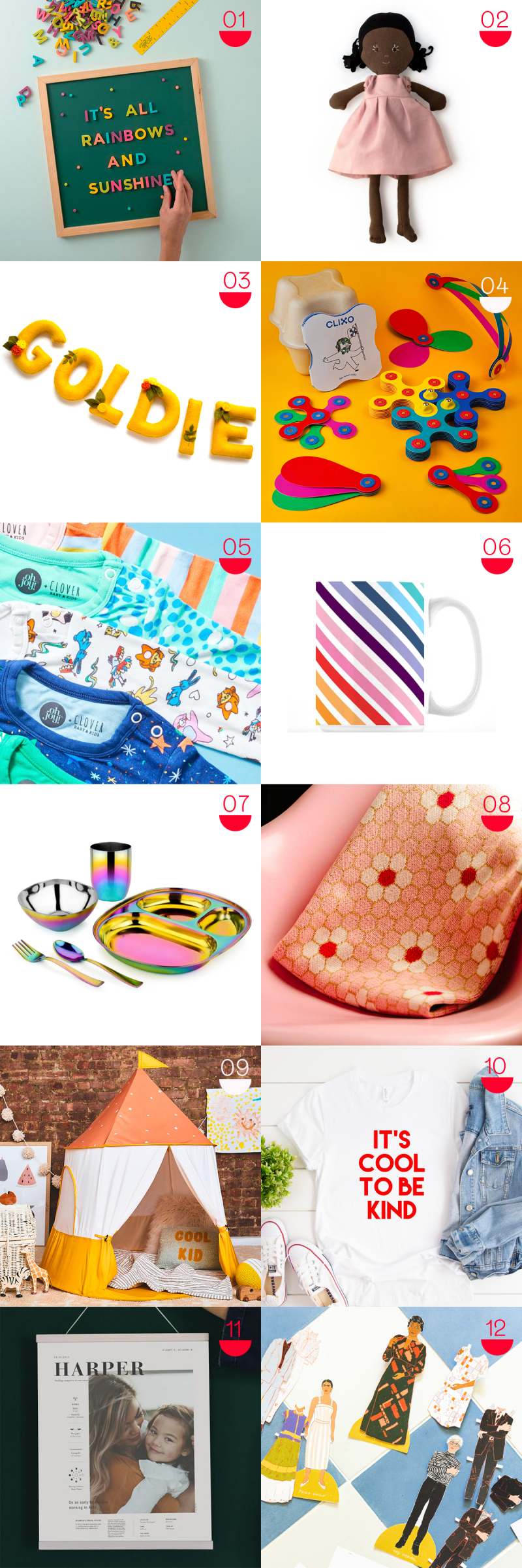 oh joy gift guide: kid's gifts that will last!